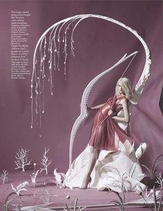《Vogue UK》June 2012:纸上奥运_FashionDes时尚要闻