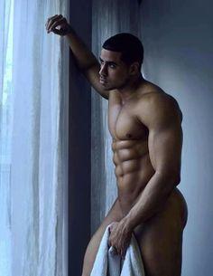 Hot black male nude