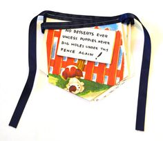 Pokey Puppy Banner with Baby Blue Ribbon