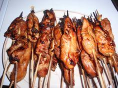 Teriyaki Chicken Skewers, Chicken Kabobs, Chicken Satay, Asian Chicken, Boneless Chicken, Chicken Wings, Chicken Thighs, Grilled Chicken, Chicken Marinate
