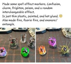 Effect markers - zelma Dungeons And Dragons Memes, Dungeons And Dragons Homebrew, Tabletop Rpg, Tabletop Games, Dnd Funny, Dnd Characters, Pen And Paper, Game Design, Board Games