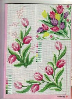 This Pin was discovered by Nih Cross Stitch Borders, Cross Stitch Rose, Cross Stitch Flowers, Cross Stitch Charts, Cross Stitch Designs, Cross Stitching, Cross Stitch Embroidery, Embroidery Patterns, Cross Stitch Patterns