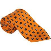 vineyard vines philadelphia flyers orange mini logo silk tie