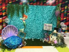 Little Mermaid Backdrop