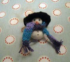 RosMadeMe: Frosty the Snowman - Christmas Tutorial no 8