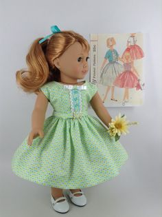 Handmade 1950s dress, jacket, and petticoat for American Girl and other similar…