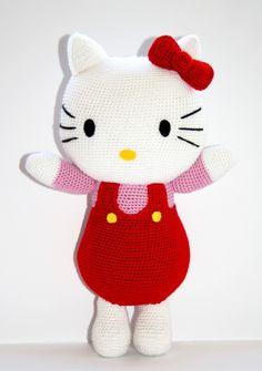 2 Hello Kitty Häkelanleitung