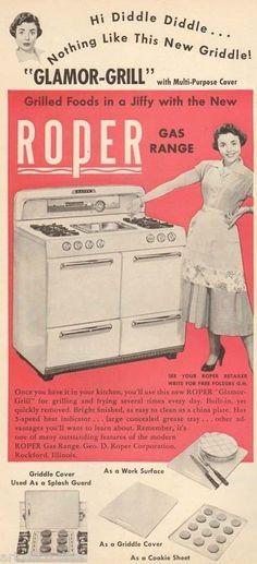 1950's roper kitchen stove - Google Search