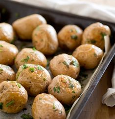 Serve up some whole #baby #roast #potatoes from Fresh Potatoes http://freshpotatoes.com.au/recipes/whole-baby-roast-potatoes