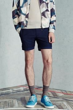 Viktor and Rolf menswear s/s 2015 - like the top and the shoes...NO to the socks!