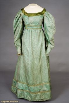 Dress - 1820s - Augusta Auctions
