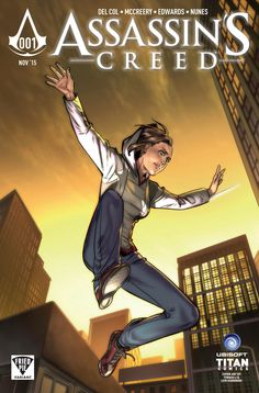 Assassin's Creed Publisher: Titan Comics Release Date: Cover Artist: Yishan Li Assassins Creed 1, Comic Books Art, Book Art, In The Flesh, Comic Covers, Trials, Cover Art, The Incredibles, Comics