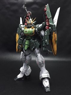 MG XXXG-01S2 Altron Gundam Repainted by LOW image 1