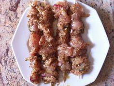 poivre, oignon, huile d'olive, ail, sel, moutarde à l'ancienne, basilic, escalope de poulet, miel