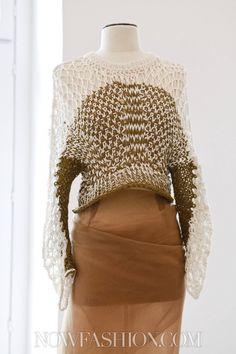 Le Moine Tricote Ready To Wear Spring Summer 2013 Paris