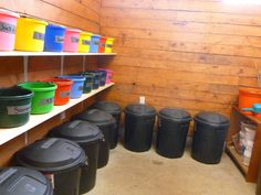 horse barn feed room 2
