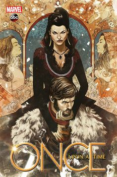 Marvel Comics cover for OUAT graphic novel.