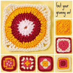 We're in love with the humble granny square! There's plenty more of them for you to try in issue 61, on sale next month