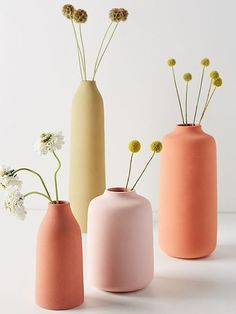 Easy Home Decor vases pastel.Easy Home Decor vases pastel Pastel Home Decor, Home Decor Vases, Cheap Home Decor, Pastel Living Room, Boho Living Room, Living Room Decor, Palette Pastel, Deco Luminaire, Vase Design
