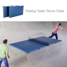 (187.43$)  Buy here - http://ai5bn.worlditems.win/all/product.php?id=Y3552 - Lixada Folding Table Tennis Table Ping Pong Table Indoor / Outdoor Portable Ping Pong Practice Training Table Home Gym Fitness Equipment 108 * 60 * 30
