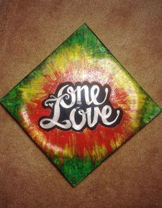 Eye-catching prints for your home by emeraldandmoss Graduation Caps, Grad Cap, Alpha Gamma, Cap Decorations, Cap Ideas, Greek Life, Cool Diy Projects, Tye Dye, Senior Year