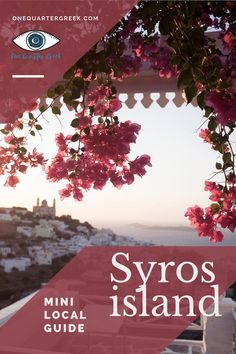 Want to discover and underrated Greek island? Check out this mini local guide about Syros, a Cycladic island without crowds. Where to go and things to do in Syros: feel like a local strolling around Ermoupolis and Ano Syros! Best Beach Reads, Stuff To Do, Things To Do, Beach Reading, Like A Local, Where To Go, Greek, Island, Feelings