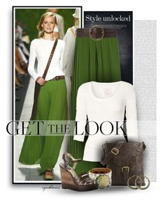 """""""Get the Look"""" by cynthia335 ❤ liked on Polyvore featuring Michael Kors, Fat Face, Latico, Lauren Ralph Lauren, Leighelena and Frye"""