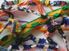 10 Freundschaftsarmbänder Hippieschmuck Hippie Goa Set Lot Großhandel Armband