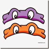 mascara de las tortugas ninja - Buscar con Google