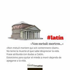 Latin Quotes, Latin Phrases, Latin Words, Locuciones Latinas, Rare Words, Learning Spanish, Writing Tips, Beautiful Words, Languages