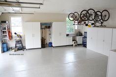 Garage Organization Giveaway with Monkey Bar Storage | theidearoom.net