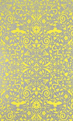 Secret Garden wallpaper by Dan Funderburgh for Flavor Paper.