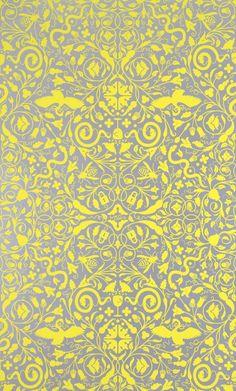Secret Garden wallpaper by Dan Funderburgh for Flavor Paper.
