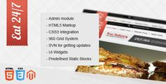 Eat 24/7 - Magento theme - ThemeForest Item for Sale