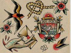 Tatuajes marítimos
