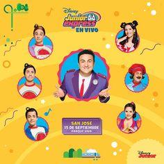 Disney Jr, Disney Junior, Costa Rica, Junior Express, Salvador, Movie Posters, Top, Club, Party
