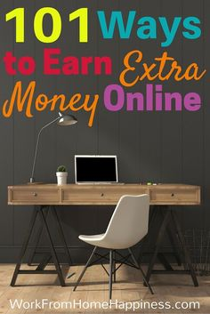 If you want to work from home but aren't quite ready to quit your day job, check out this list of 101 Ways (and counting!) to Earn Extra Money Online. From Usability Testing to Micro Jobs, there's something for everyone! make extra money at home, make extra money in college