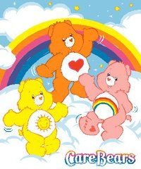 never too old for carebear hugs!