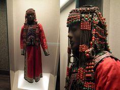 Ceremonial dress, Mongol minority - Shanghai Museum