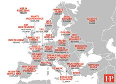 Hilarious Map of How Chinese Think of Europe... map_china_europe_stereotypes_final_copyrightFOREIGNPOLICY
