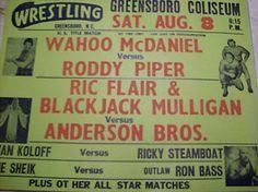 mid atlantic wrestling poster | Mid Atlantic Championship Wrestling Poster | eBay