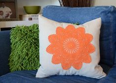 DIY Pillows and Fun Pillow Projects - DIY Dyed Doily Pillows - Creative, Decorative Cases and Covers, Throw Pillows, Cute and Easy Tutorials for Making Crafty Home Decor - Sewing Tutorials and No Sew Ideas for Room and Bedroom Decor for Teens, Teenagers and Adults