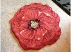 Poppy rug, love it!