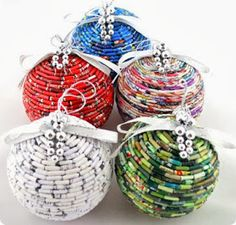 Christmas trees will be blue without this ornaments, with your creativity, originality and imagination you can create a colorful, unique a...