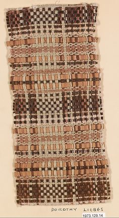 """Dorothy Liebes 