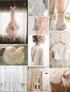 whispers of pink inspiration board