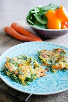 Ich mag Rezepte, die schnell und einfach gemacht sind. Und wenn die dann auch noch so richtig gesund sind, wie diese Low Carb Zucchinipuffer - perfekt!
