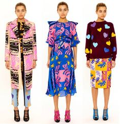Tata Naka Autumn Winter 2014/15 (Matisse inspired) Pre Collection