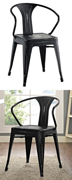 Dine like a Parisian. Our Lindley Bistro Chair adds a charming touch to any…