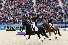 Pak Across the Pond - Day 12 - Team Dressage Finals
